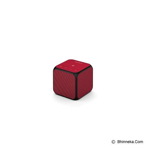 SONY Portable Wireless [SRS-X11] - Red - Speaker Bluetooth & Wireless